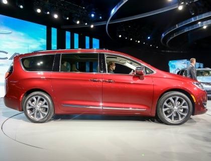 Il modello Pacifica di Chrysler