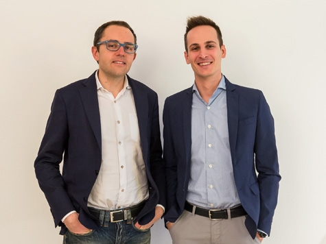 Stefano Dallago, ceo tZig, e Franco Dalfovo, marketing manager