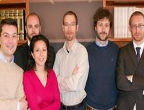 I fondatori di Solwa: Paolo Franceschetti, Matteo Pasquini,Alice Tuccillo, Davide Franceschetti, Marco Sportillo, Enzo Muoio