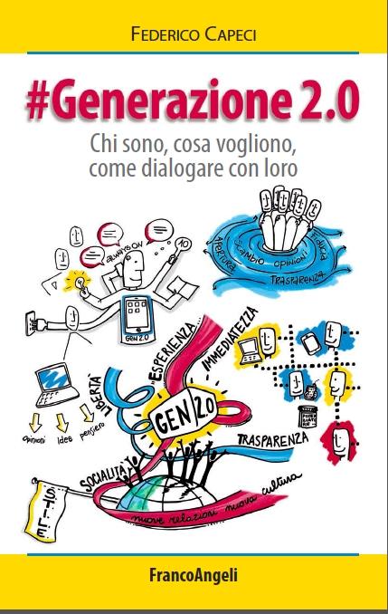 La copertina del libro #Generazione 2.0