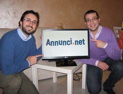 Vincenzo e Piero Bacarella, founders di Annunci.net