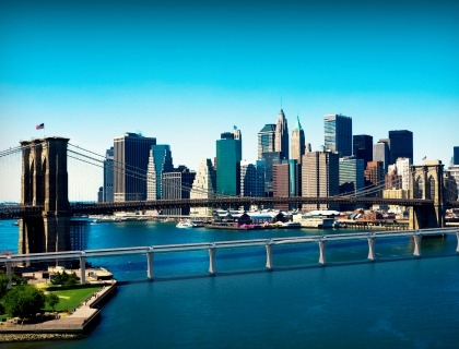 Una New York del futuro con Hyperloop