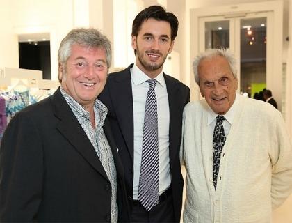 Vittorio Missoni, Ottavio Missoni Jr. e Ottavio Missoni