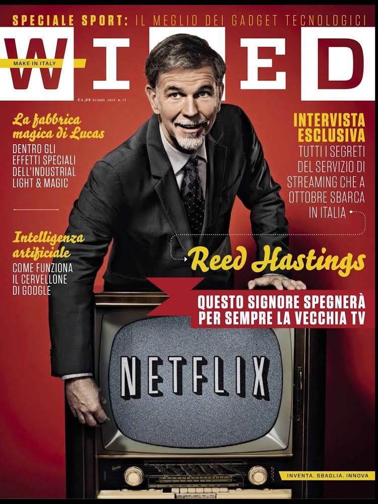 La copertina dell'ultimo numero di Wired