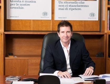 Filippo Sugar, presidente SIAE e CEO Sugar Music (foto Marco Rossi)