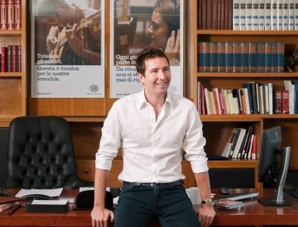 Filippo Sugar, CEO Sugar Music e presidente della SIAE (foto Marco Rossi)
