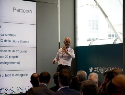 Andrea Rangone, CEO Digital360, illustra il percorso degli Awards nell'edizione 2016