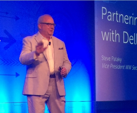 Steve Pataky Vice President worldwide Security Sales di Dell Security