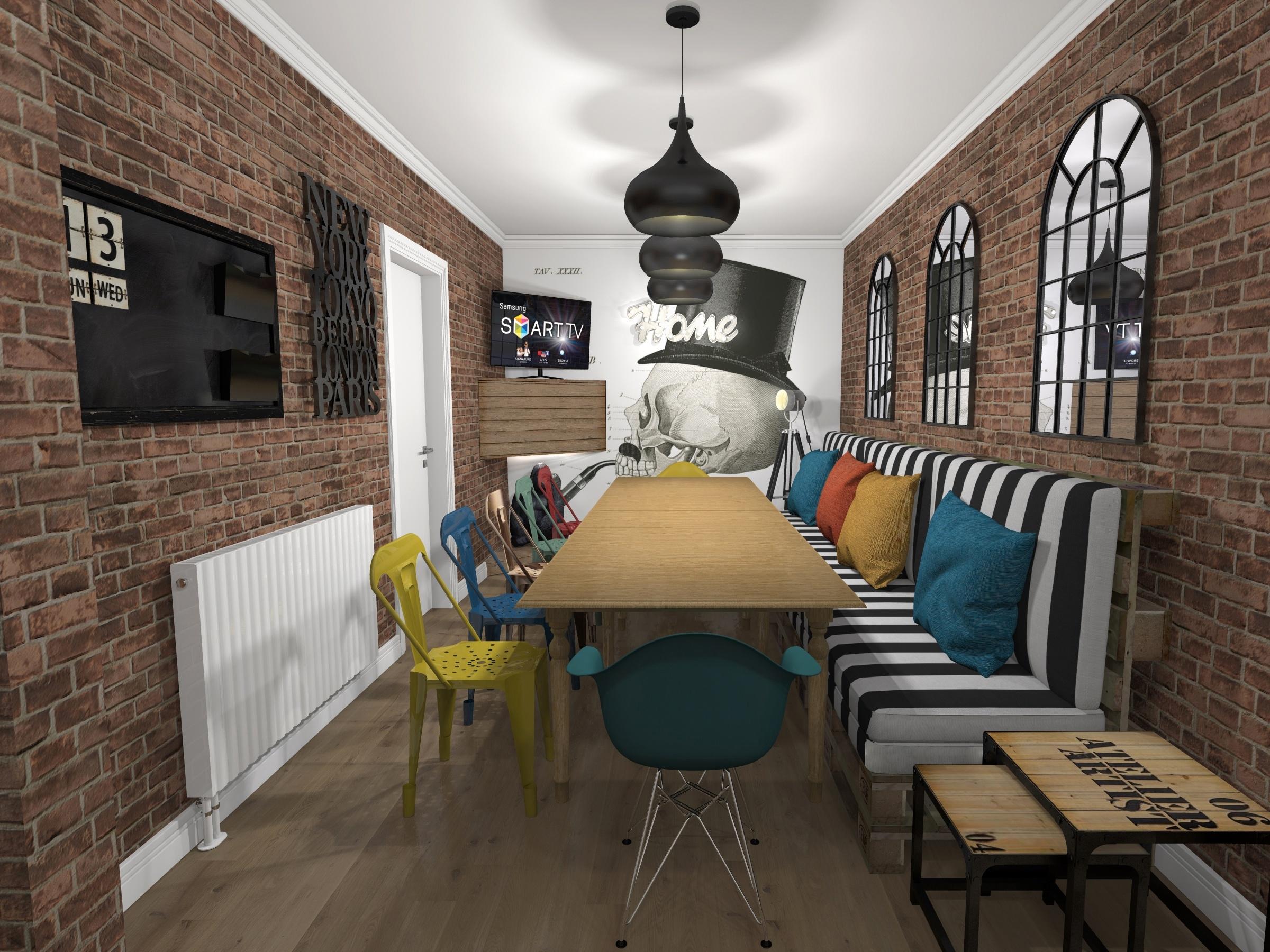 L'interno di una delle StartupHome a Londra