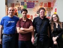 Il team di Monoidics, Dino Di Stefano è il secondo da sinistra