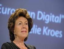 Neelie Kroes, vicepresidente della Commissione europea