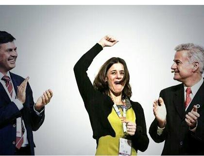 Anna Amati, vicepresidente di META group, esulta alla notizia dell'assegnazione all'Italia del GEC 2015