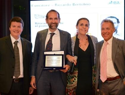 da sinistra: Giovanni Riviera, Riccardo Bertolino, Licia Mattioli e Giancarlo Rocchietti