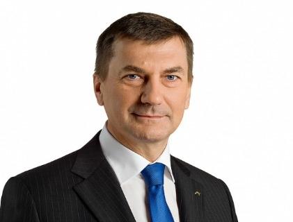 Andrus Ansip, vice presidente della Commissione Ue
