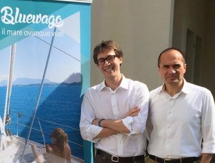 Nicola Davanzo (ceo di Barcheyacht) e Alberto Baban (presidente Venetwork)