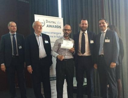 La premiazione di Everis nella sezione IoT