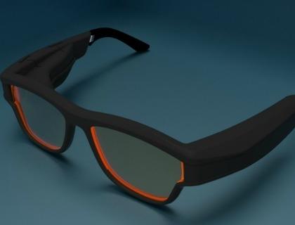 Gli occhiali GlassUp