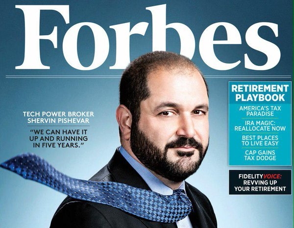 Shervin Pishevar, co-founder e presidente di Hyperloop One