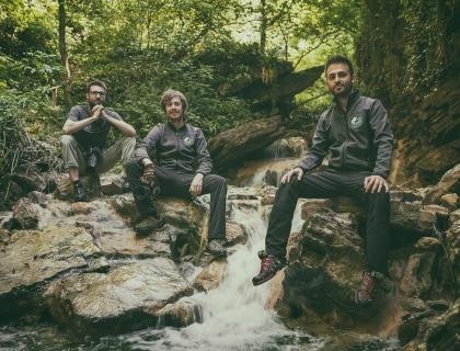 I tre fondatori di Viaggi Fotografici