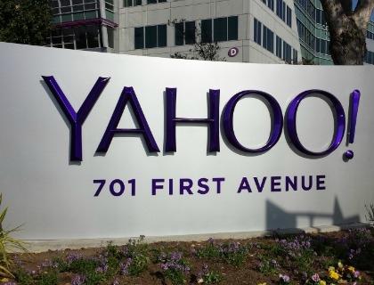 Il quartier generale di Yahoo! a Sunnyvale, in California