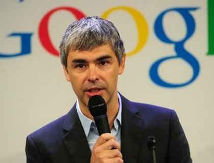 Larry Page, co-fondatore di Google