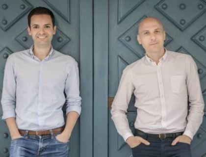 I co-founder di BnbSitter, da sinistra Biagio Tumino e Piero Cipriano