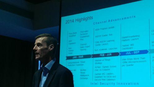 David Small, vicepresidente vendite di canale per la regione EMEA in Intel Security