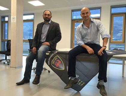 Luca e Matteo Spaggiari, founder di Bikee Bike
