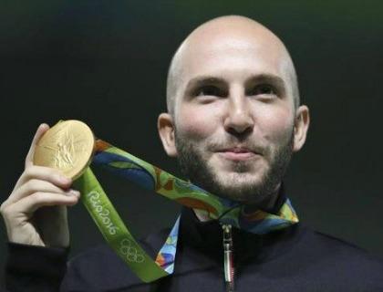 Niccolò Campriani, medaglia d'oro a Rio2016
