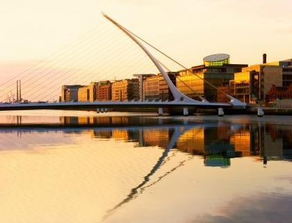 Uno scorcio di Dublino