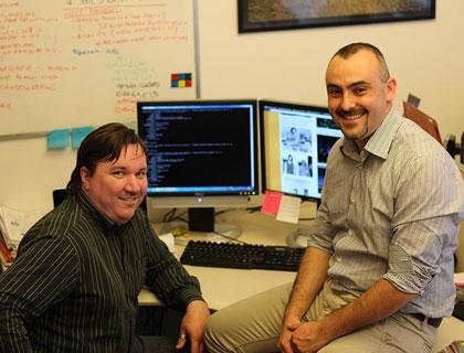 Marco Trombetti e Gianluca Granero, founder di Memopal