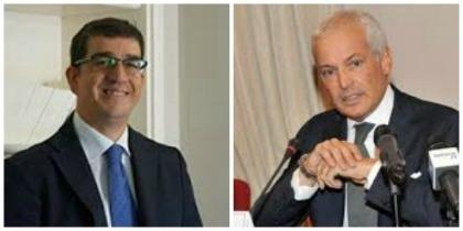 Walter Tortorella (a sinistra) e Marco Nicolai, autori del libro