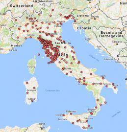 Mappa amministrazioni aderenti spid