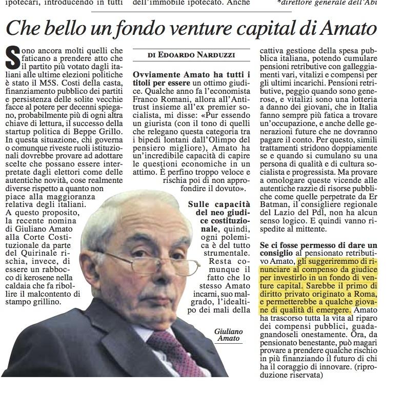 L'articolo di Edoardo Narduzzi su Mf del 18 settembre