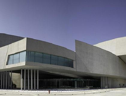 Il MAXXI - Museo nazionale delle arti del XXI secolo, sede dell'evento