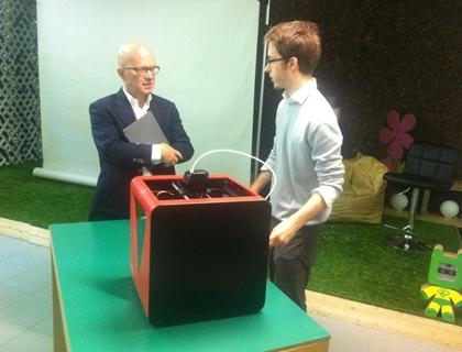 Marco Rizzuto, cofondatore di Fabtotum, racconta a Giovanni Iozzia il prodotto creato dalla startup: il Personal Fabricator