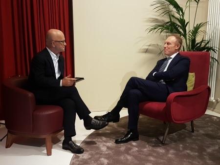 Giovanni Iozzia e il cofounder di Movendo Technology, Simone Ungaro