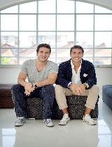 I founder di Jusp: Jacopo Vanetti e Giuseppe Saponaro
