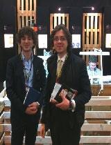 Giorgio Isabella e Filippo Maria Capitanio, fondatori di Lux Made In
