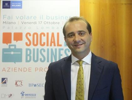 Emiliano Novelli, presidente dei Giovani Imprenditori di Assolombarda