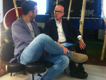 Nicola Meneghello, fondatore di New Vision, intervistato da Giovanni Iozzia