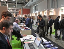 Stand delle startup calabresi a Smau 2013