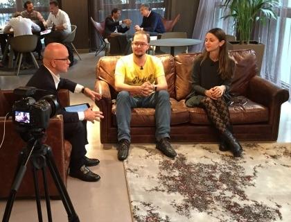 Denis Bulichenko e Sharon Ezra intervistati da Giovanni Iozzia