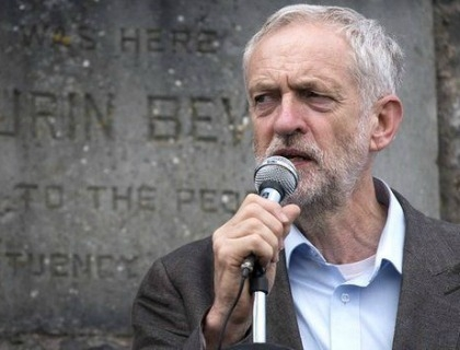 Jeremy Corbyn, leader del Labour Party inglese