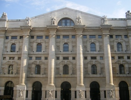 Palazzo Mezzanotte, sede della Borsa