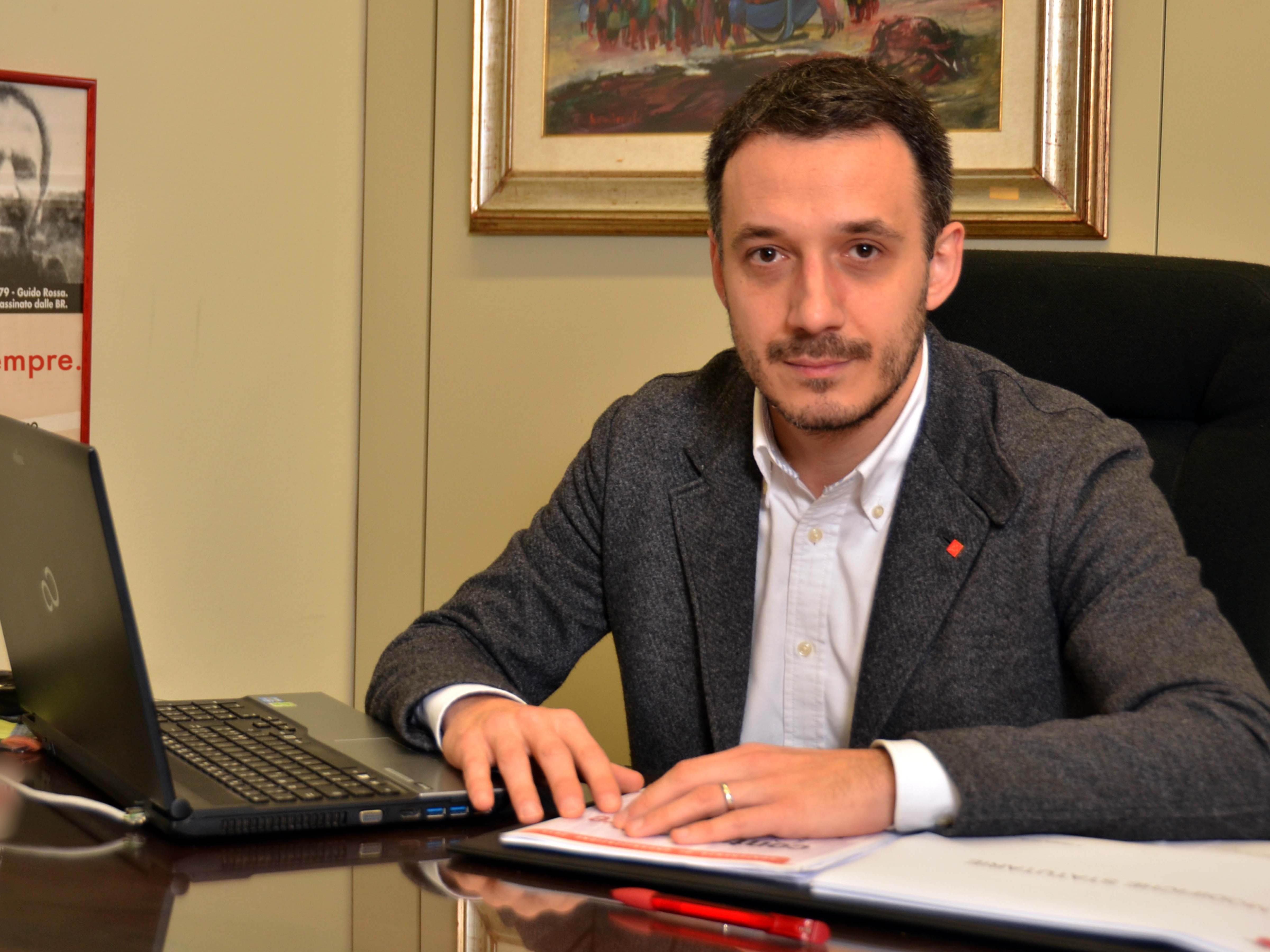 Massimo Bonini, segretario Cgil Milano