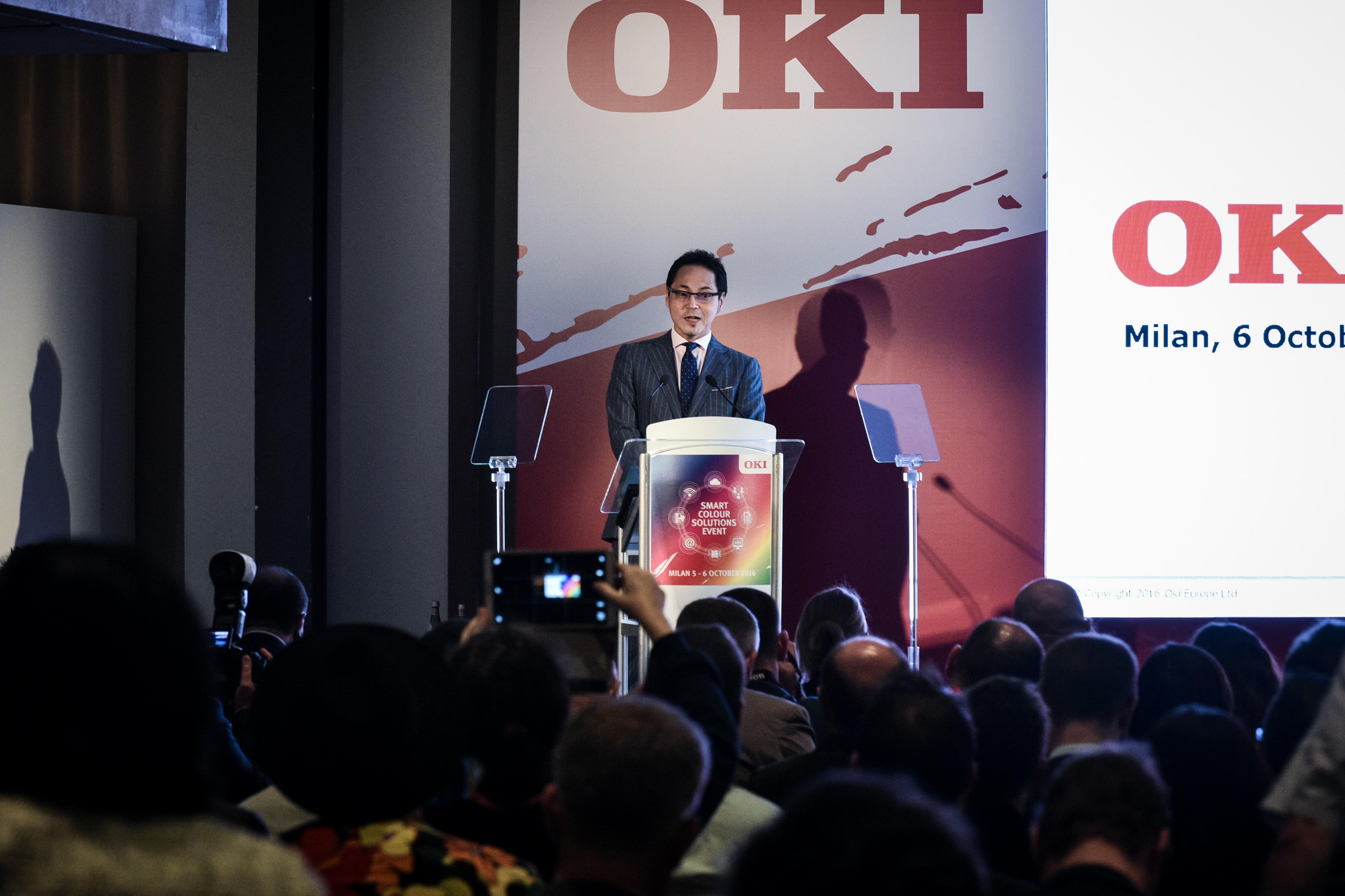 Terry Kawashima, amministratore delegato Emea di Oki