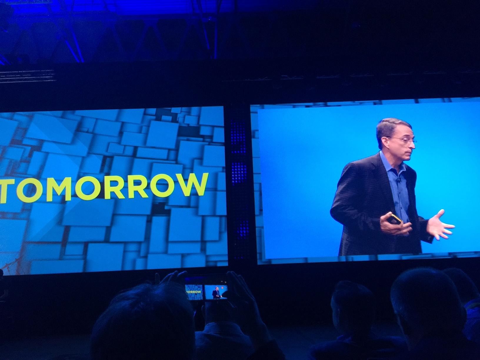 Pat Gelsinger parla al VMware World di Barcellona