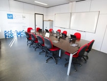 Un'aula del laboratorio di esperienza digitale
