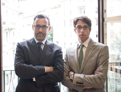 Paolo Galvani e Giodanni Daprà, fonder di MoneyFarm